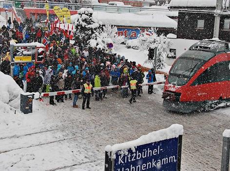 Anreise mit den ÖBB zu den Hahnenkamm-Rennen in Kitzbühel