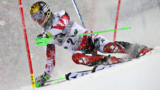 Marcel Hirscher beim Schladming Night Race