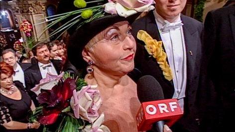 Die Opernball-Revue: Mode von damals