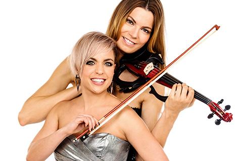 Pressefoto Celina Roscheck & Farina Miss