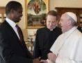 Papst Präsident Sambia