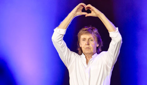 Valentinstag: Paul McCartney vertont Emojis - oe3.ORF.at