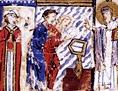 Seite aus den Scylitzes Matrinensis, 11. Jahrhundert