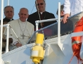 Papst in Lampedusa