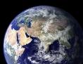 Aufnahme aus dem Weltall: Planet Erde