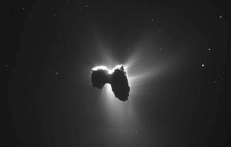 Der Komet Tschuri