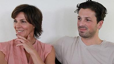 Sabine Patzl und Thomas Kraml