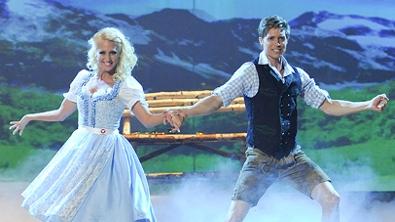 Lukas Perman und Kathrin Menzinger