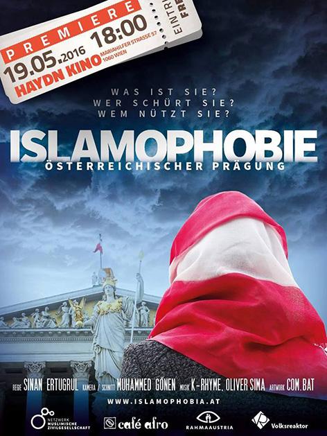 Filmplakat Islamophobie Österreichischer Prägung
