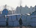Kirche in khristlichem Flüchtlingslager