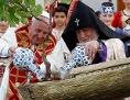 Papst Franziskus und das Oberhaupt der armenisch-apostolischen Kirche, Katholikos Karekin II.