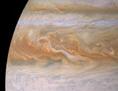 Ein Ausschnitt eines Oberflächenbildes des Jupiter