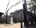 Papst Franziskus in Auschwitz