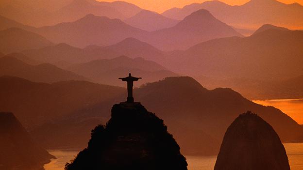 Jesus Statue über Rio de Janeiro