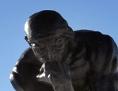 Skulptur Denker Auguste Rodin