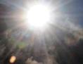 Sonne und Wasserdampf