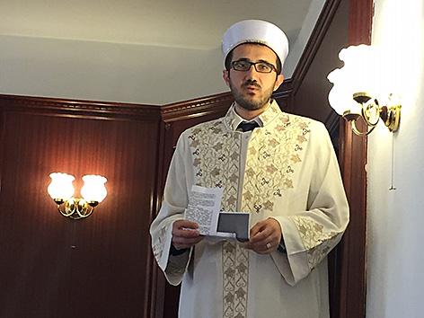 Präsident der Islamischen Glaubensgemeinschaft in Österreich (IGGÖ) Ibrahim Olgun