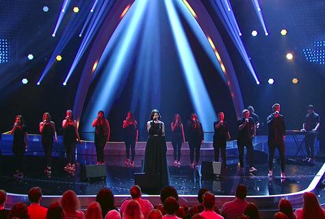 Sing4fun Students auf der Bühne