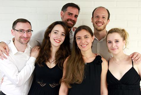 Porträt Ensemble Eclats de France