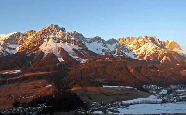 Blick auf den Wilden Kaiser (Tirol)