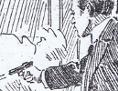 """Titelblatt der """"Illustrierten Kronenzeitung"""" vom 22.10.1916, das das Attentat Adlers auf Stürgkh zeigt"""