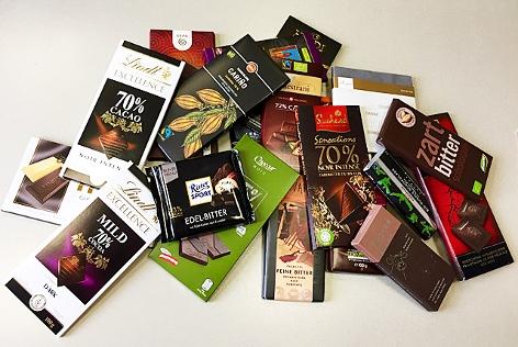 Alle getesteten Schokoladen
