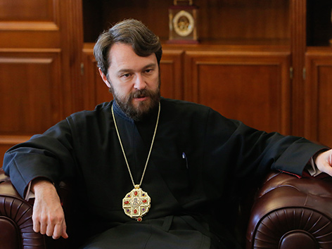 Der Moskauer Metropolit Hilarion