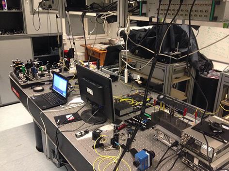 Quantenphysikalisches Labor