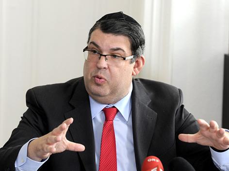 IKG-Präsident Oskar Deutsch
