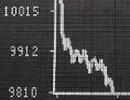 Börsenchart - Baisse