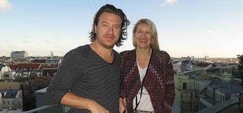 Parov Stelar mit Claudia Stöckl