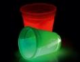 leuchten Becher mit Knicklicht