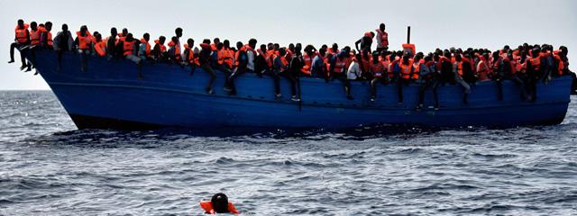 Flüchtlinge am Mittelmeer