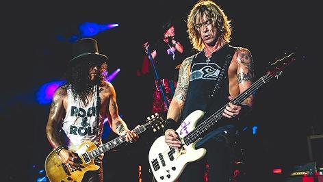 Slash und Duff McKagan von Guns N' Roses