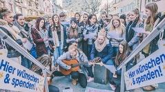 Gesangseinlage Schülerinnen XWU