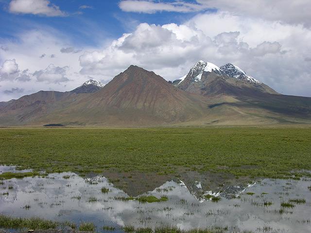 Panorama: Hochland Tibets