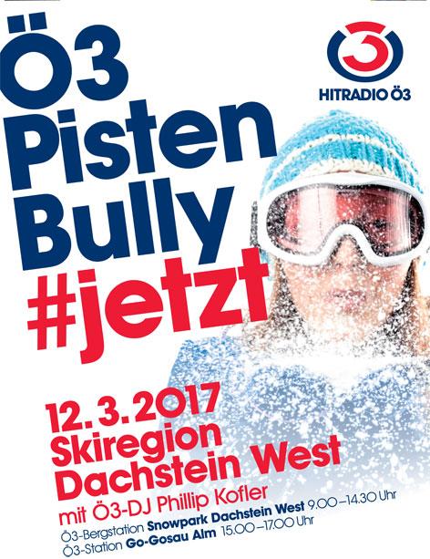 Ö3-PsitenBully am Dachstein West am 13.3.2017