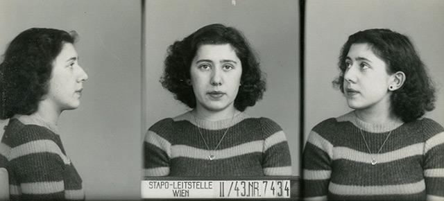 """Die 21jährige Katharina Fischer, nach NS-Gesetzen als """"Geltungsjüdin"""" kategorisiert, wurde im Februar 1943 ohne Stern aufgegriffen. Sie wurde nach Auschwitz deportiert und ermordet."""