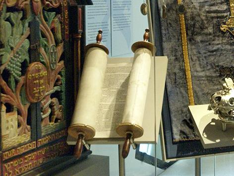 Eine Torah-Rolle