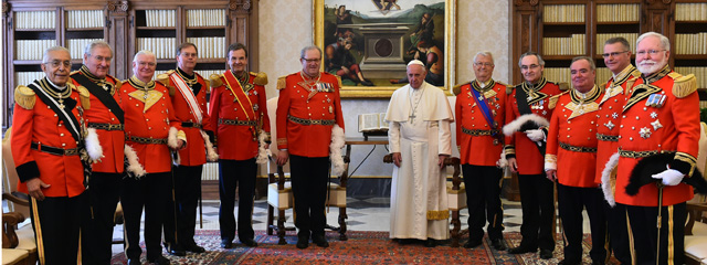 Papst Audienz Malteser