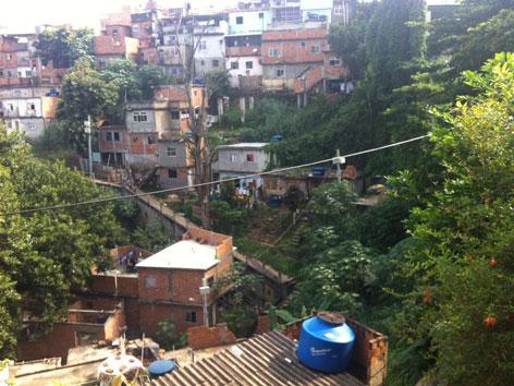 Rio Favela Umbanda Brasilien