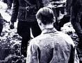 Zwangsarbeiter in einem NS-Arbeitslager