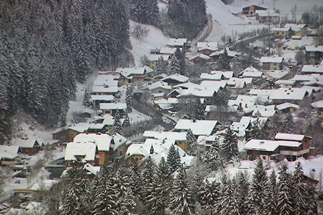 Annaberg Lungötz im Lammertal im Winter