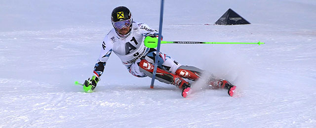 Marcel Hirscher bei Skirennen
