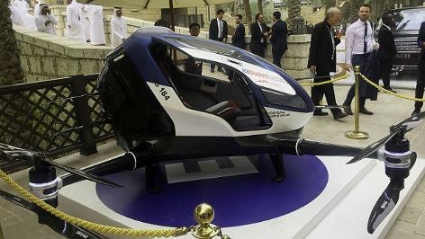 Prototyp einer Taxi-Drohne in Dubai
