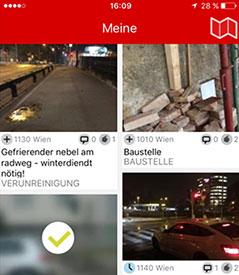 """App """"Sag's Wien"""""""