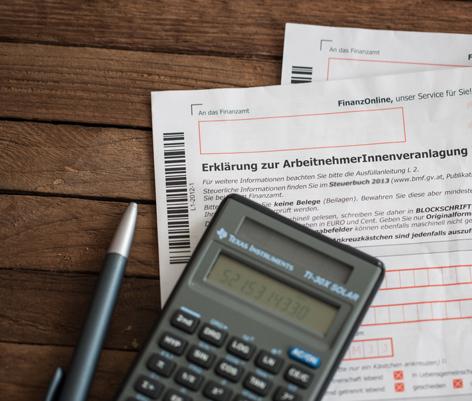 Formular für Arbeitnehmerveranlagung