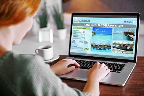 Urlaubsbuchung online
