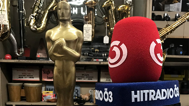 Der Oscar und das Ö3-Mikrofon
