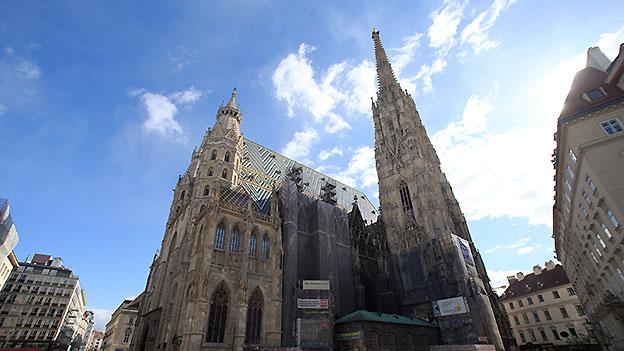 Stephansdom in Wien von außen